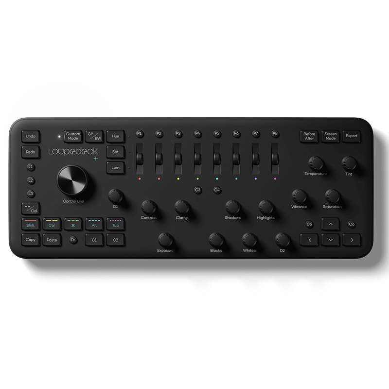 Loupedeck+ Plus Photo and Video Editing Console