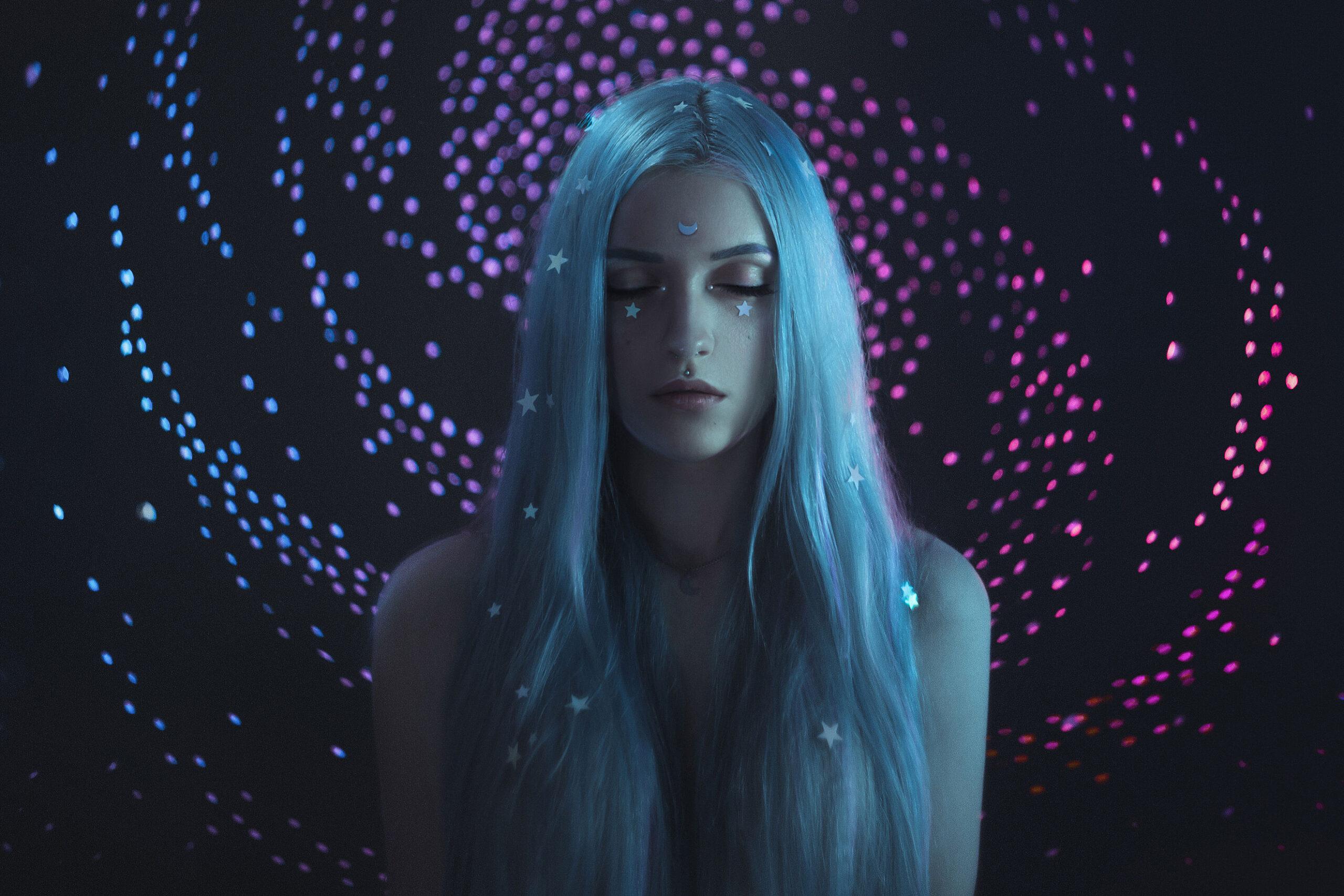 My Universe a creative bokeh backdrop by Anya Anti