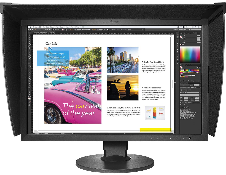 EIZO ColorEdge CG2420 24.1″ ( 61.1 cm) Hardware Calibration LCD Monitor